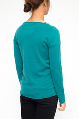 LA ROSE sweater green