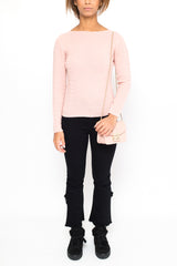LA ROSE sweater pink