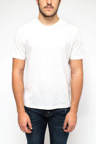 PRADA t-shirt round neck white