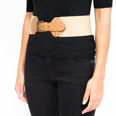 PRADA buckled waist belt