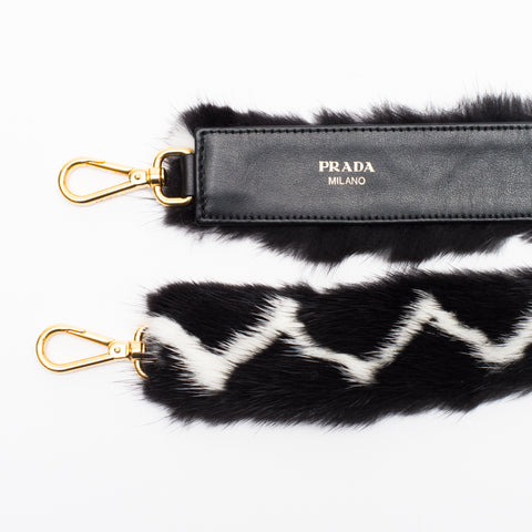 PRADA shoulder mink fur