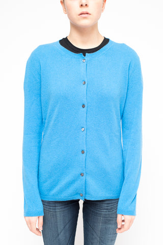 LA ROSE cardigan lightblue
