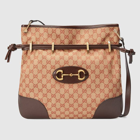 GUCCI - Bag beige ruggine/maroon
