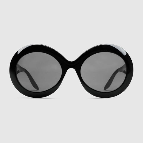 GUCCI sunglasses BLACK GREY