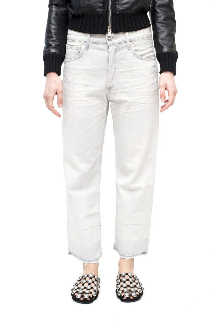 CITIZENS of HUMANITY Cora crop light grey