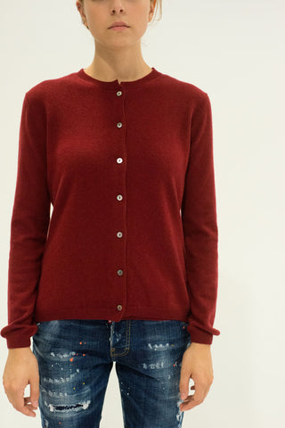 LA ROSE knitwear bordeaux