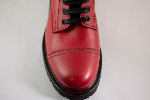 PARIS TEXAS boot red