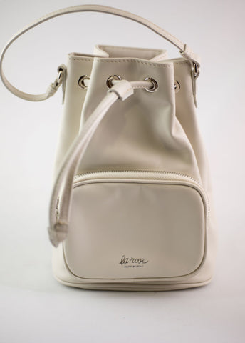 LA ROSE leather bag ivory