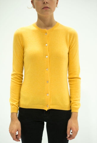 LA ROSE knitwear giallo