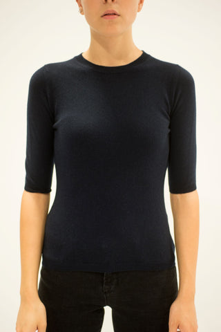 LA ROSE sweater top blue