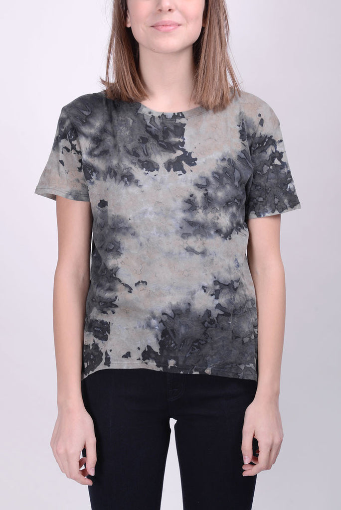 ENZA COSTA T-shirt pima grey rose