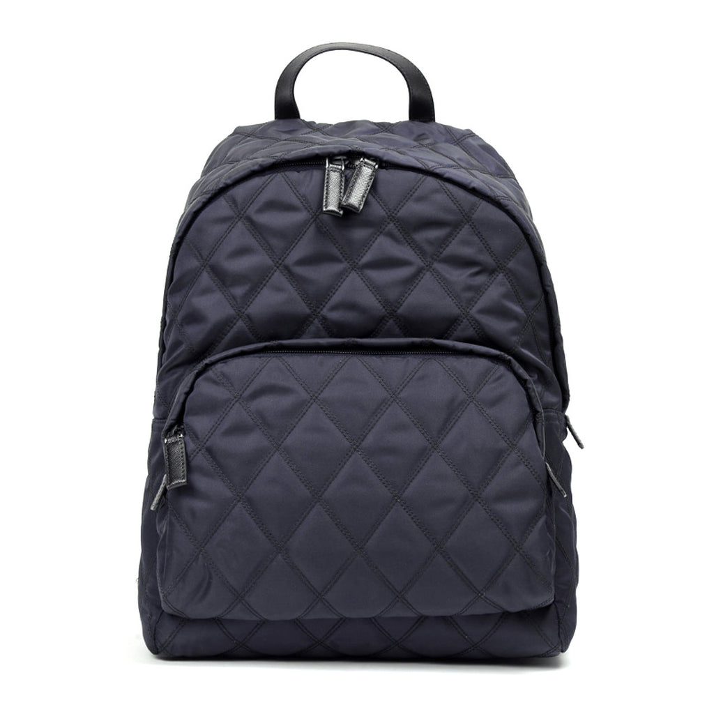 PRADA Backpacks blu+black