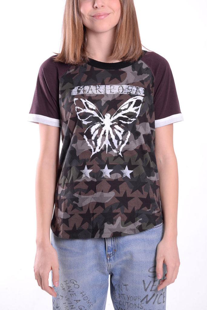 VALENTINO T-shirt butterfly