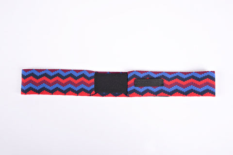 PRADA Hair band zigzag RED