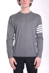 THOM BROWNE Pullover med grey