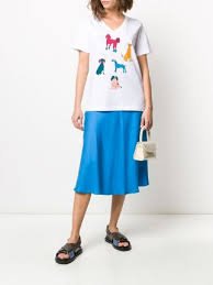 PAUL SMITH NECK DOG DAYS T SHIRT