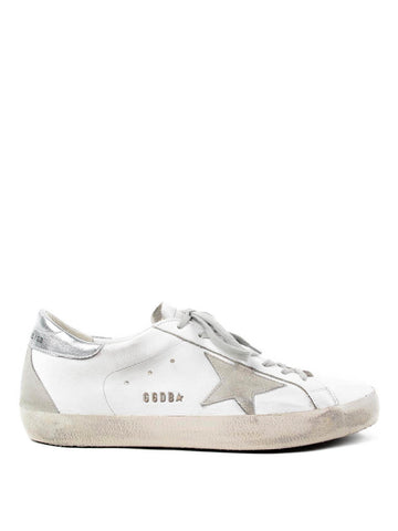 GOLDEN GOOSE sneakers superstar white-metal