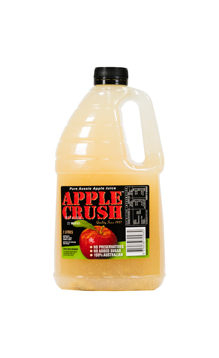 Apple Crush (Cloudy) Juice - Juice - Cedar Creek - Dairy Goodness