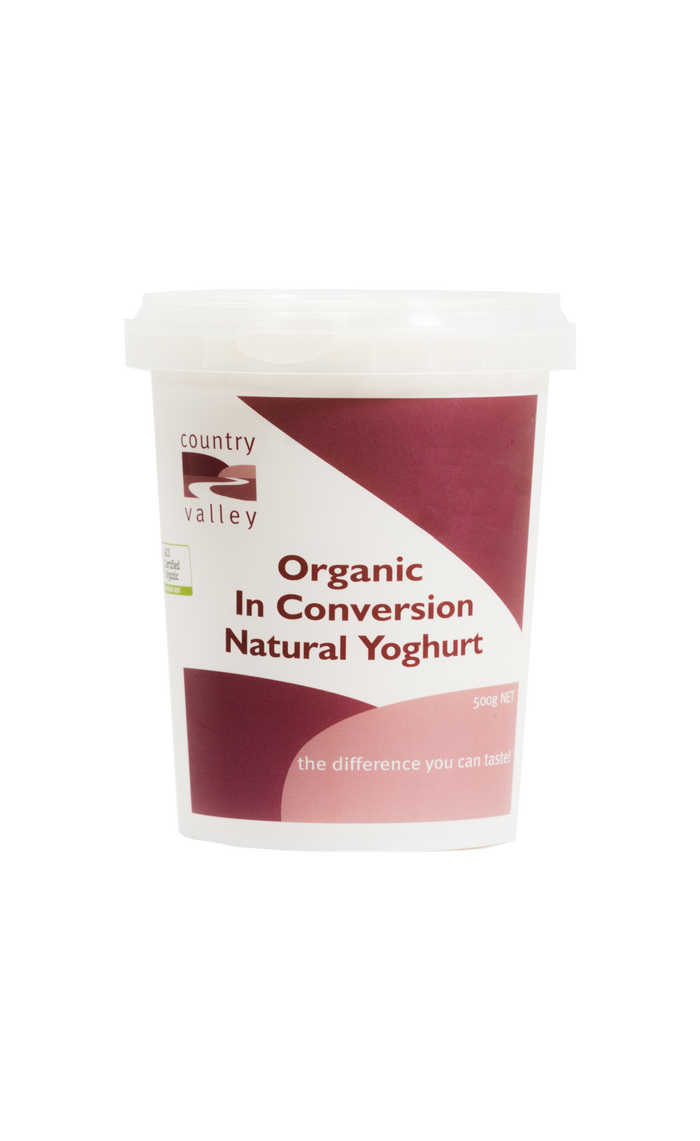 Organic Natural Yoghurt - Yoghurt - Country Valley - Dairy Goodness