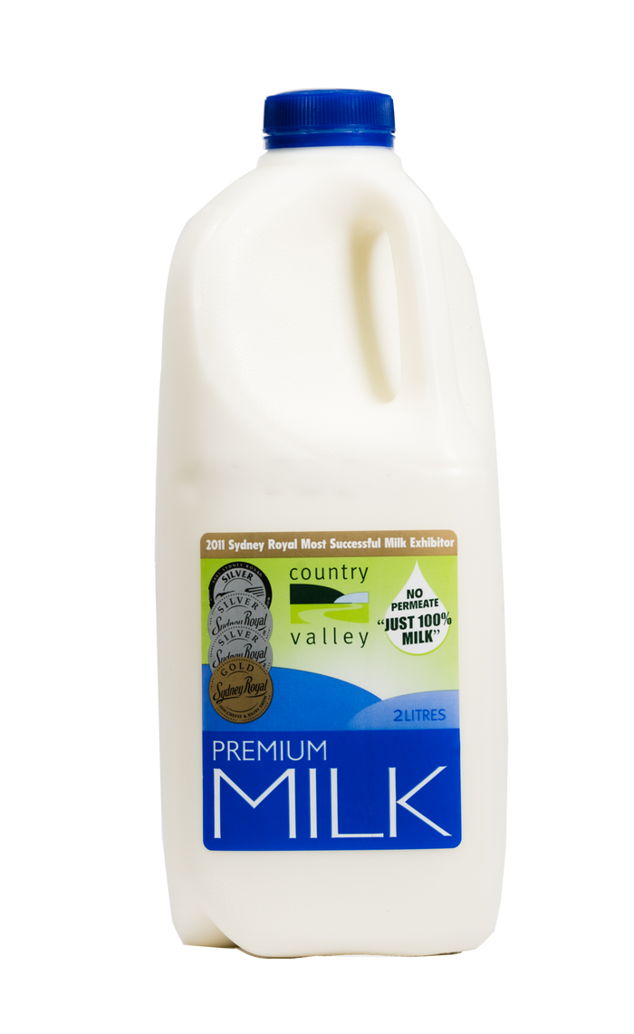 Premium Full Cream Milk 1L, 2L & 3L - Milk - Country Valley - Dairy Goodness