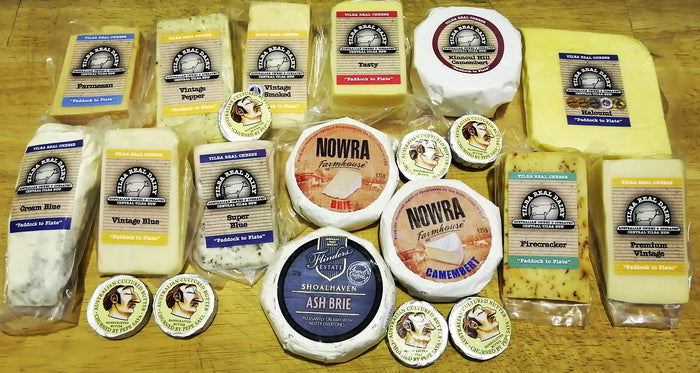 Stay at home cheese pack (Special) - Cheese - Dairy Goodness - Dairy Goodness