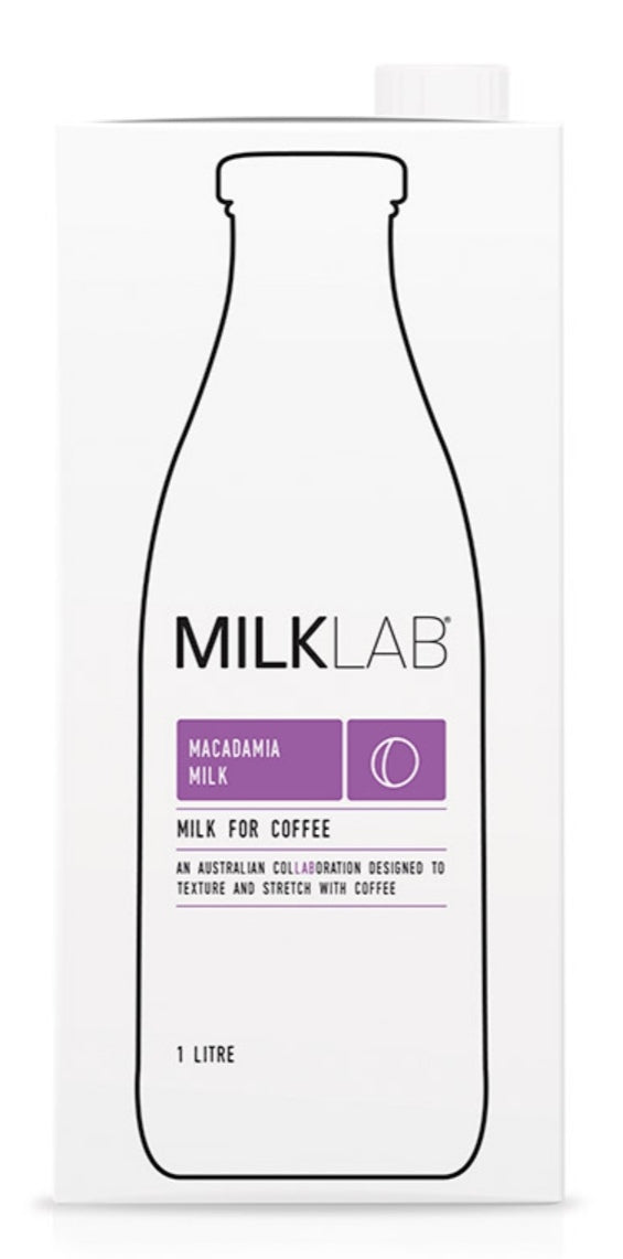Milk Lab Macca Milk 1L - Milk - Dairy Goodness - Dairy Goodness