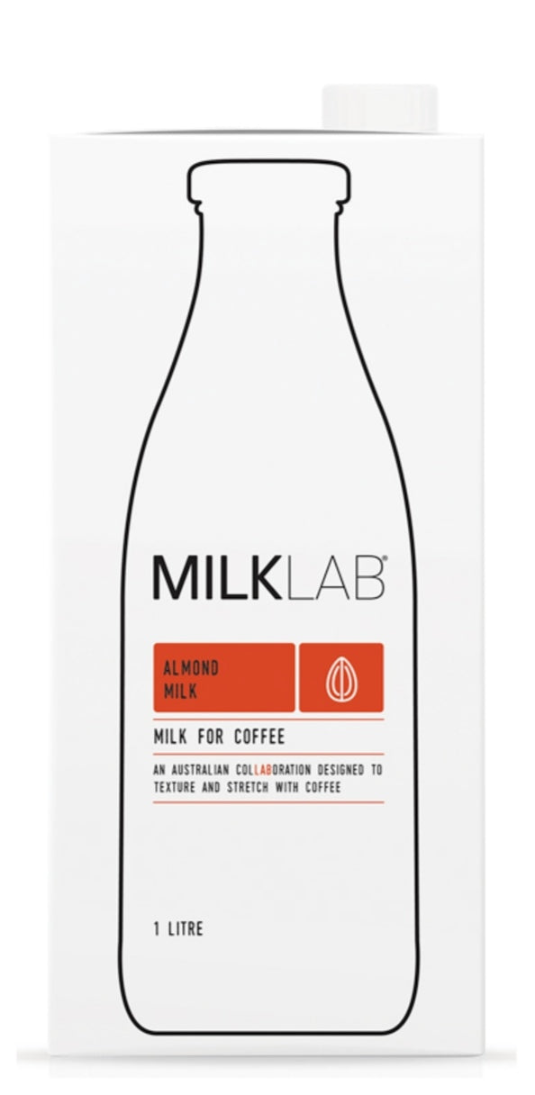 Milk Lab Almond Milk 1L - Milk - Dairy Goodness - Dairy Goodness