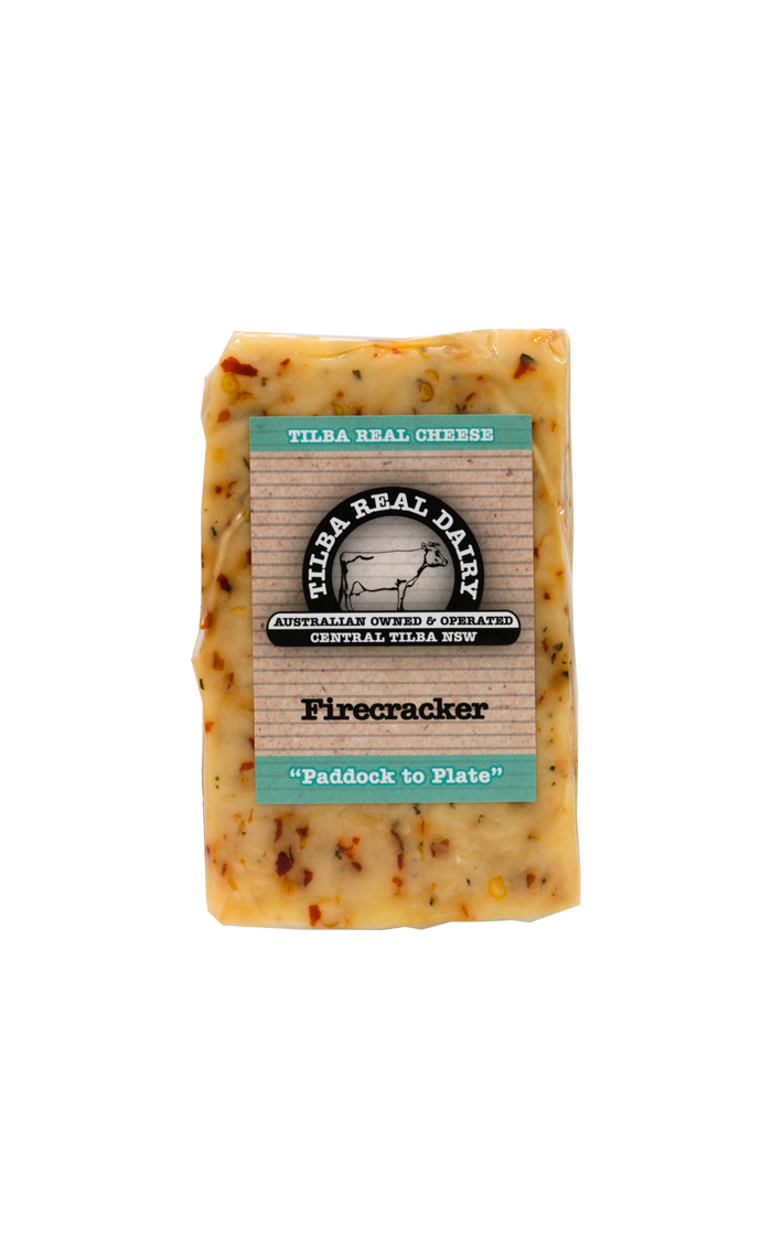 Firecracker Chilli Cheddar - Cheese - Tilba Real Dairy - Dairy Goodness