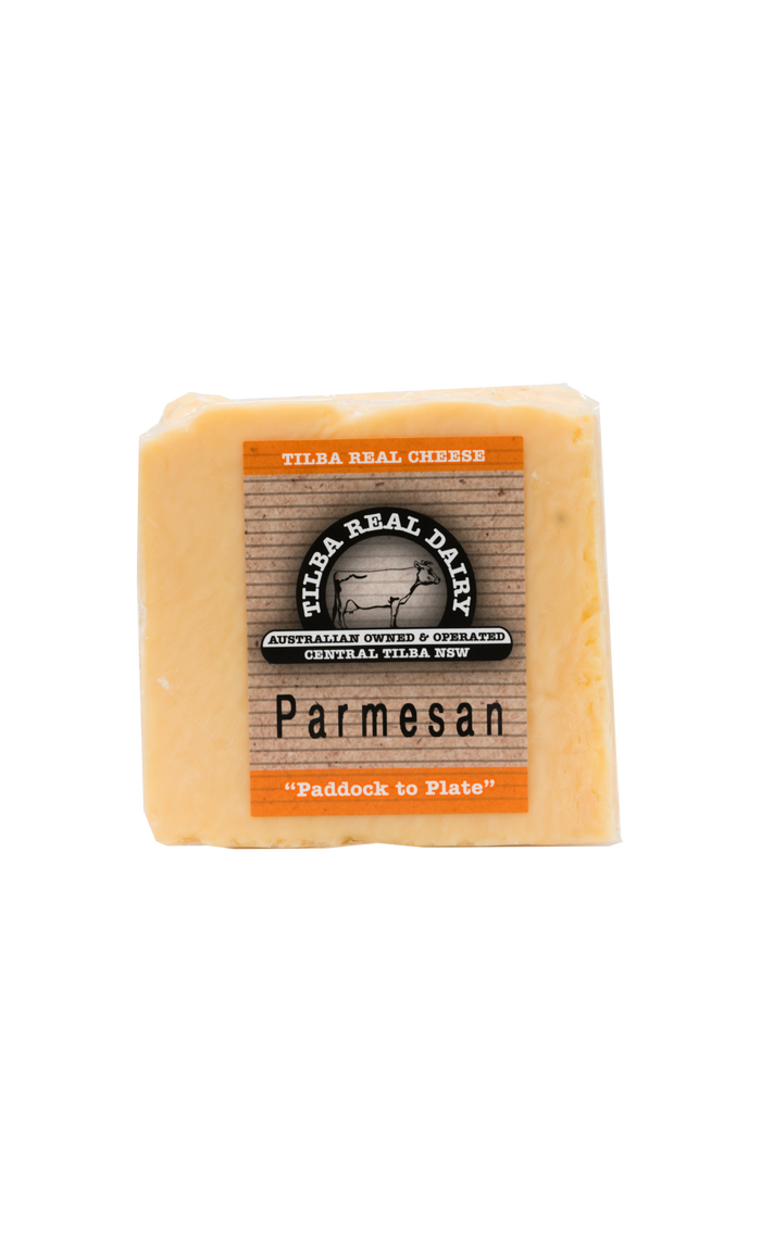 Parmesan - Cheese - Tilba Real Dairy - Dairy Goodness