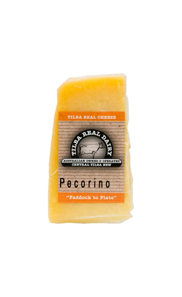 Pecorino - Cheese - Tilba Real Dairy - Dairy Goodness