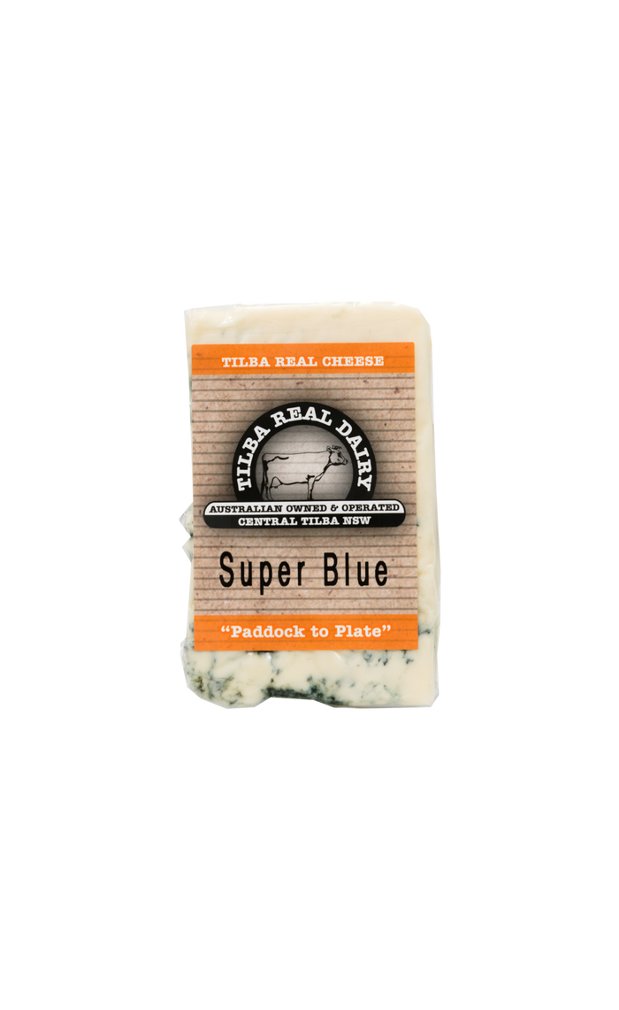 Super Blue - Cheese - Tilba Real Dairy - Dairy Goodness