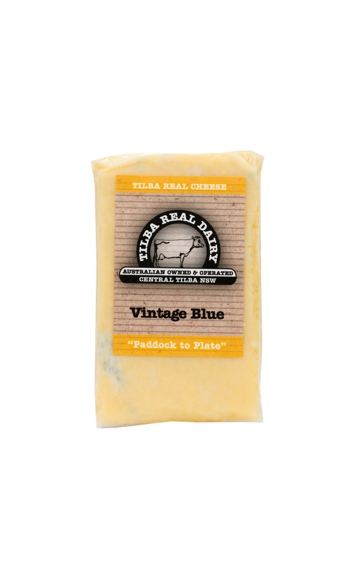 Vintage Blue - Cheese - Tilba Real Dairy - Dairy Goodness
