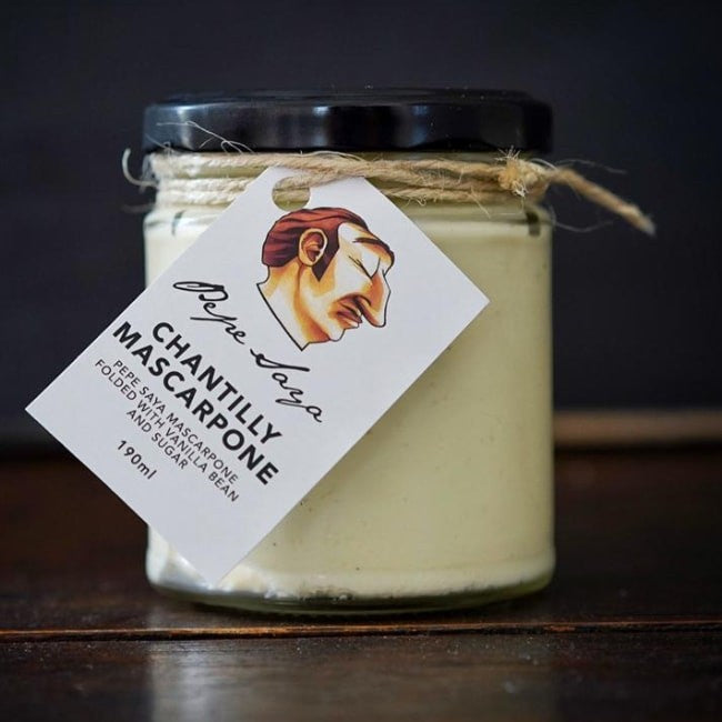 Pepe Saya Chantilly Mascarpone 190ml - Marscarpone - Pepe Saya - Dairy Goodness