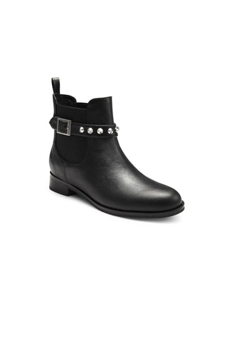 Ines Leather Booties