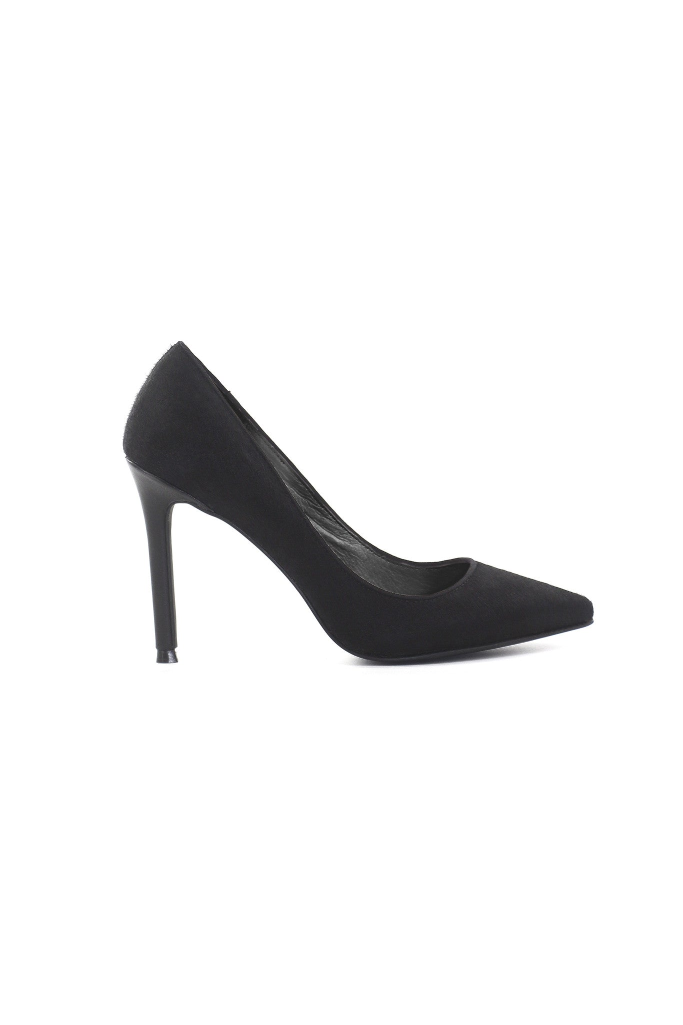 Camille Pony Hair Pumps