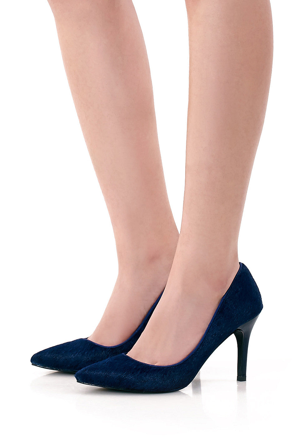 Riva Pony Hair Pumps