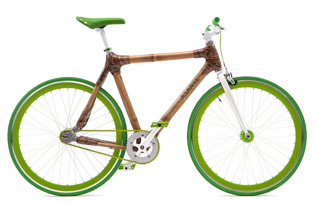 Ecological & environmental friendly BAMBOO BIKES by ASANTE