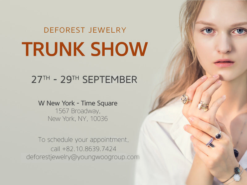 DeForest TRUNK SHOW in New York