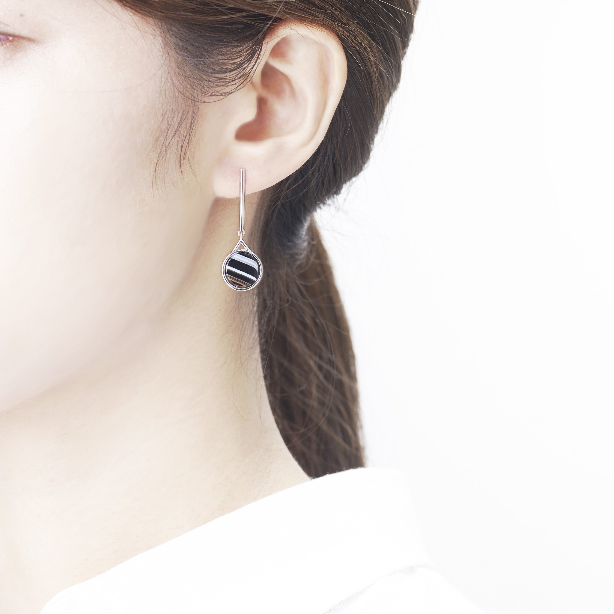 Moon Stick Earring-RH