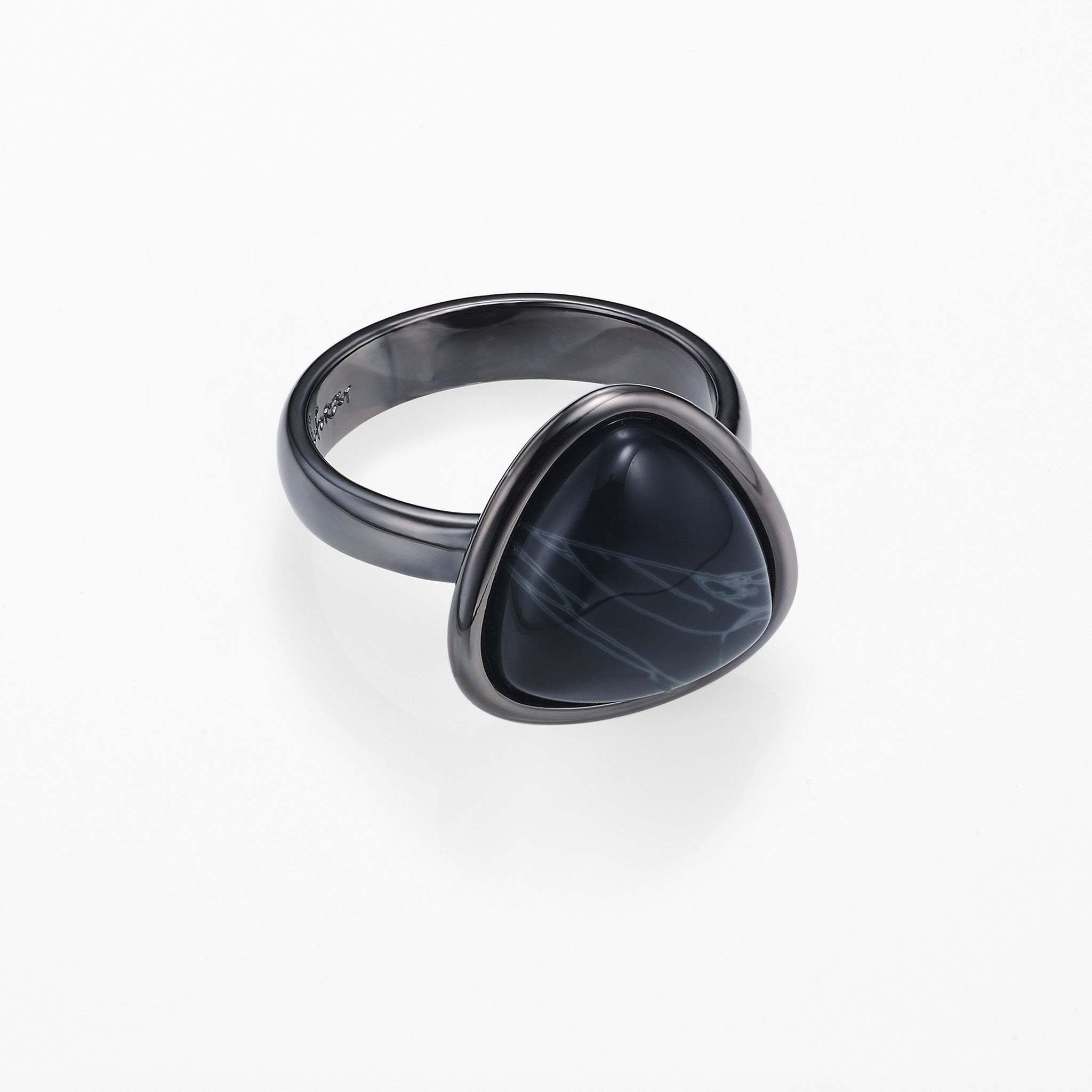 Planet Ring-Spiderweb Obsidian