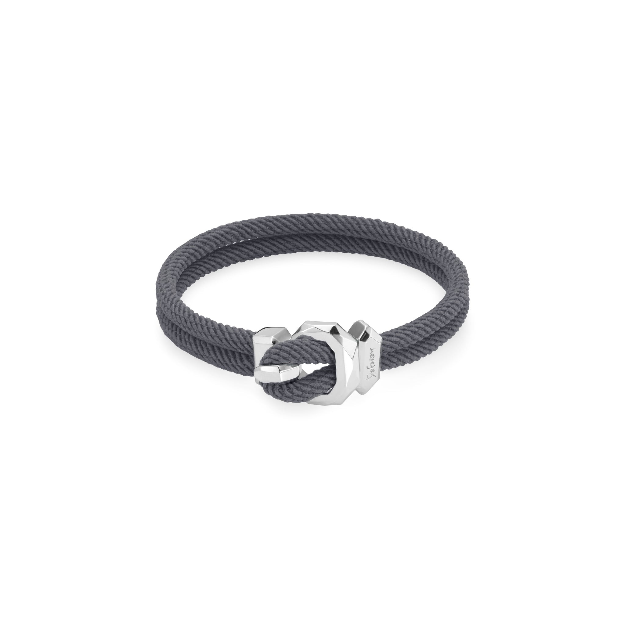 South Pole Silver Bracelet - GREY