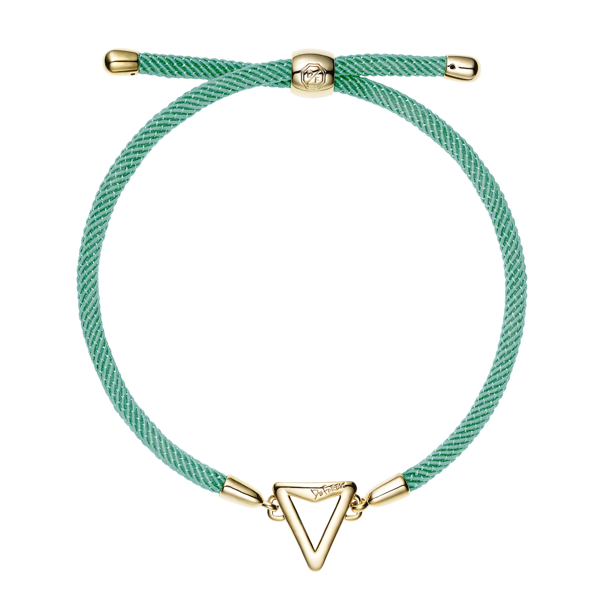 Arrow Friendship Slide Bracelet-Mint