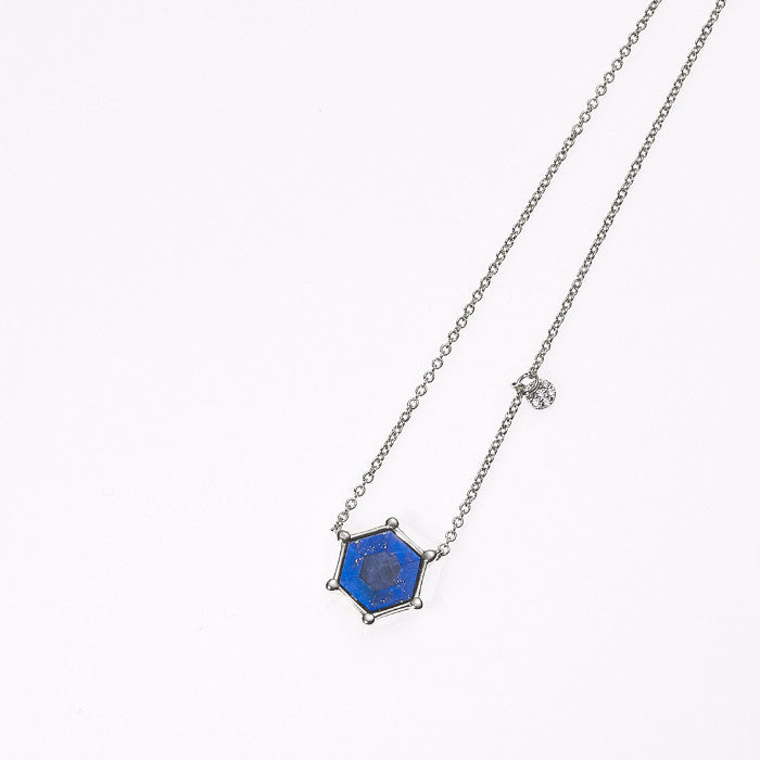 Hexagon Star Necklace-RH