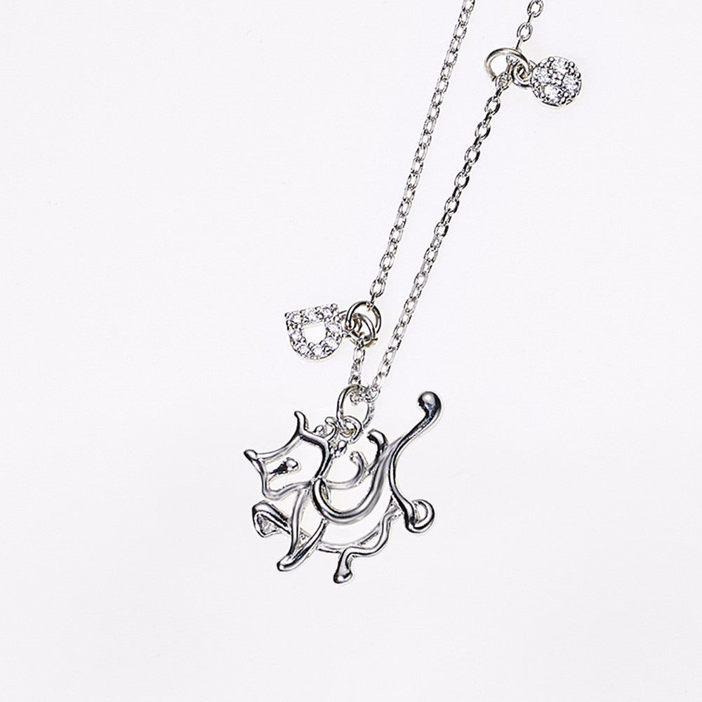 Animal Zodiac Necklace-Dragon