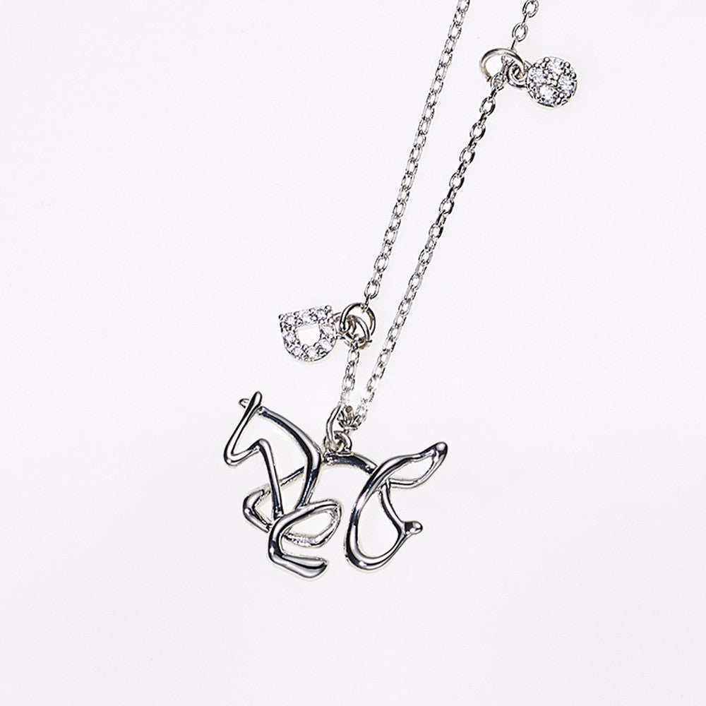 Animal Zodiac Necklace-Horse