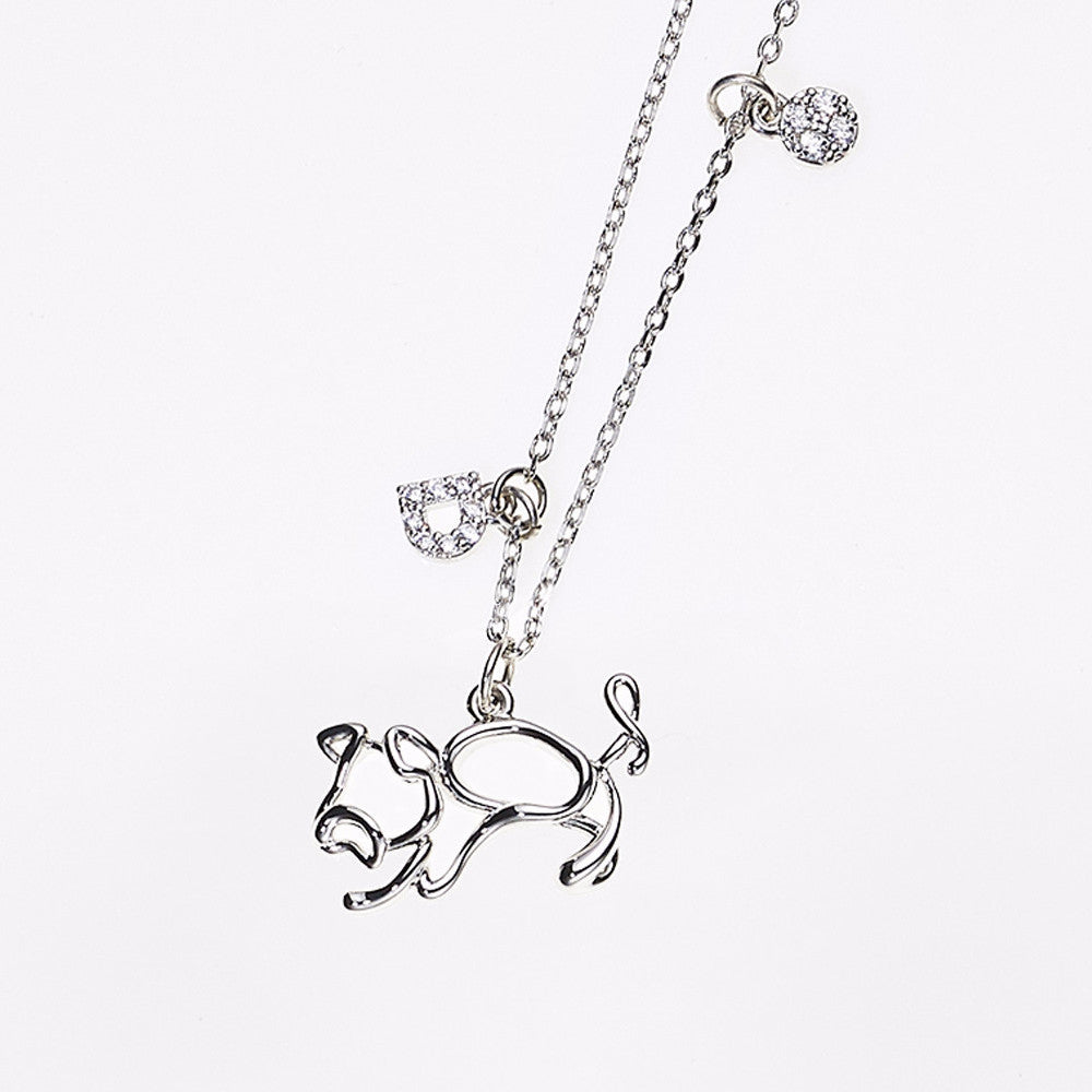 Animal Zodiac Necklace-Pig