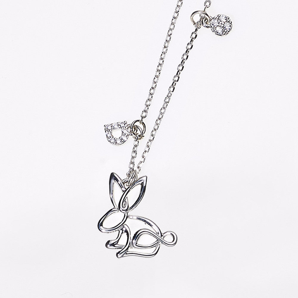 Animal Zodiac Necklace-Rabbit