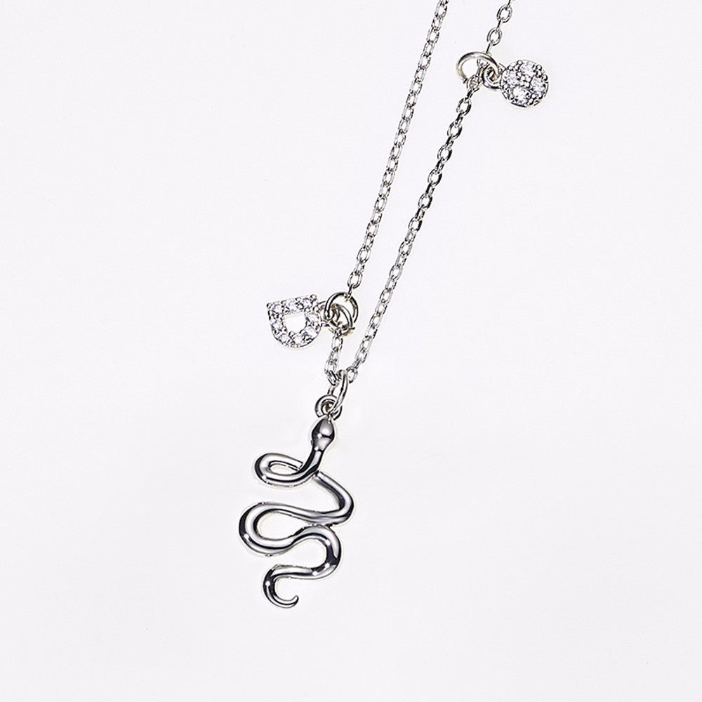 Animal Zodiac Necklace-Snake