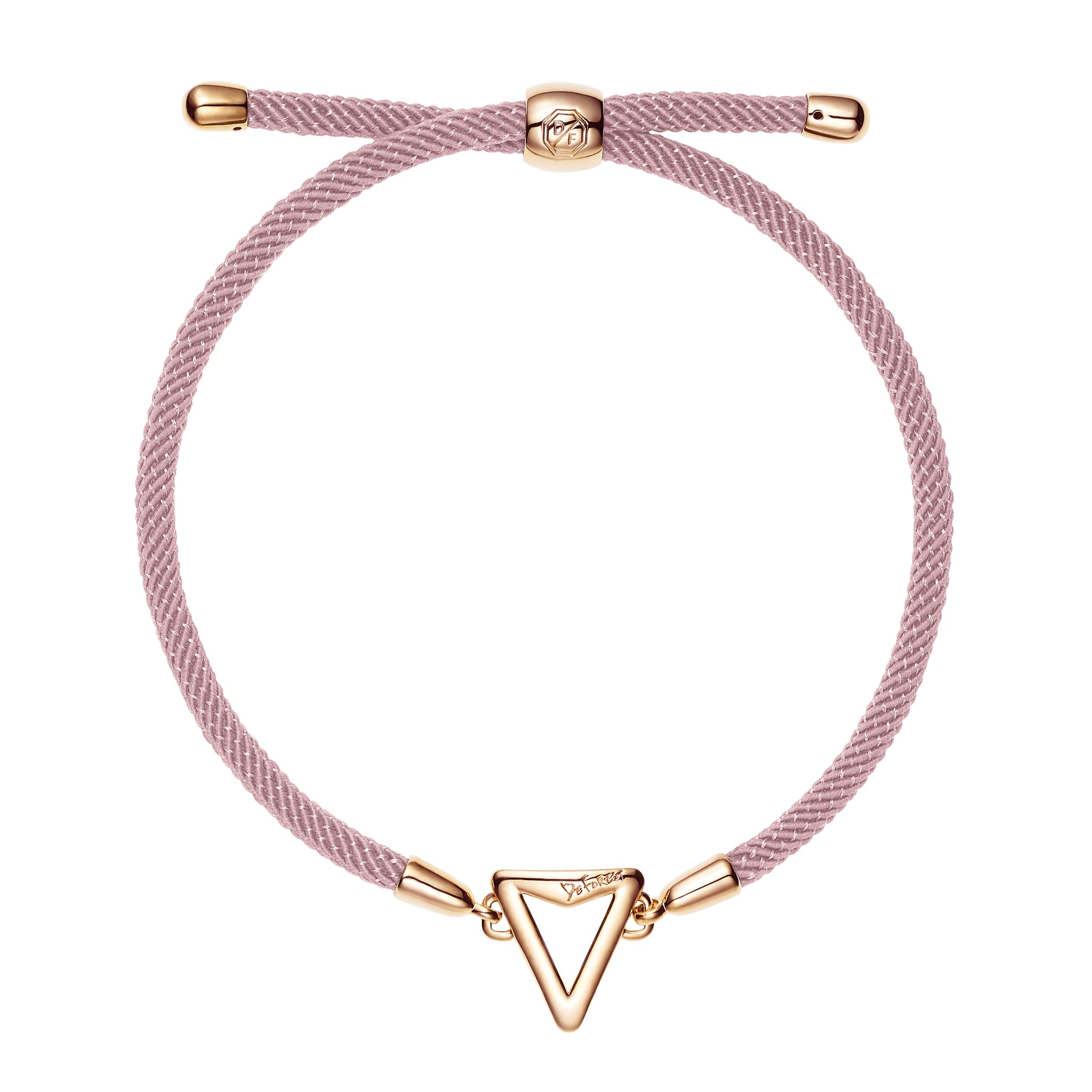 Arrow Friendship Slide Bracelet-Pink