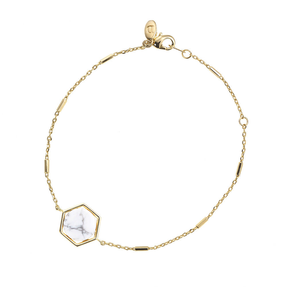 Round Hexagon Bracelet